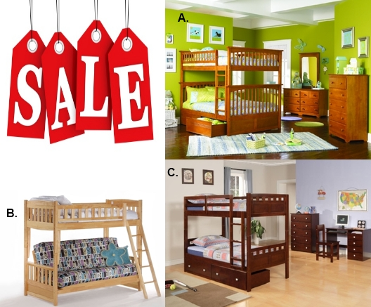 Beds On Sale : Kids Bunk Beds On Sale!  Kids Bunk Beds Design Ideas